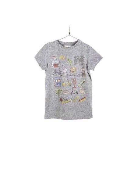 Arsene et les Pipelettes T-Shirt New Orleans - Maat 116
