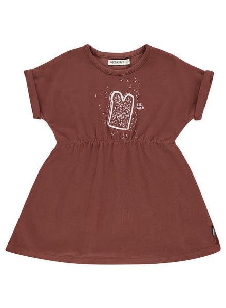 Imps & Elfs Dress Short Sleeve -  Teddybear