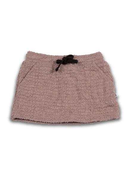 Cos I Said So Mini Skirt - Teddy Bouclé/Fawn