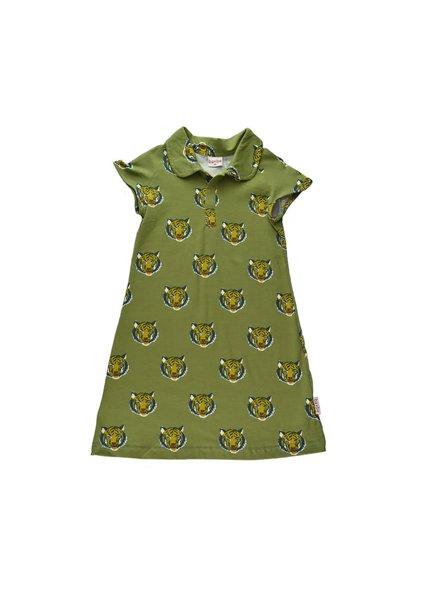Baba Babywear Raglan Dress - Tiger