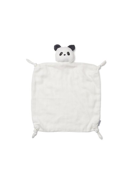 Liewood Agnete cuddle cloth-Panda creme de la creme