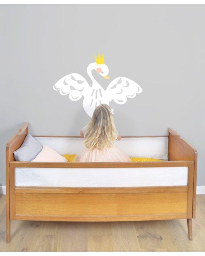Lilipinso Muursticker Swan