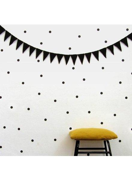CarlijnQ Wallstickers - Polka dots