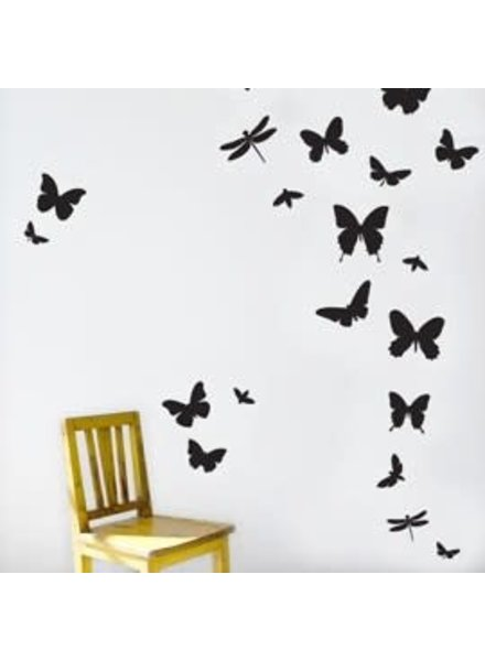 Ferm Living Mini butterflies wallstickers