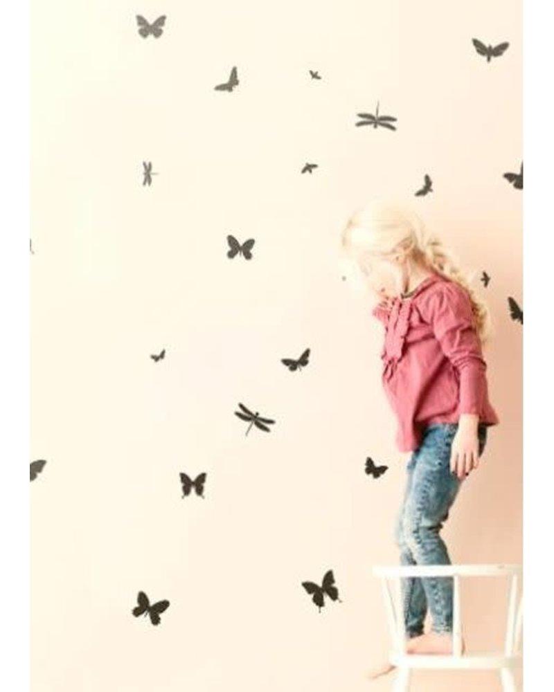 Ferm Living Mini butterflies wallstickers