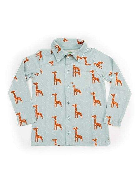 Lily-Balou Shirt Guust Aop - Girafs - Maat 86
