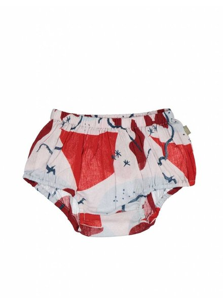 Kidscase Lily Bloomers Red - Maat 74