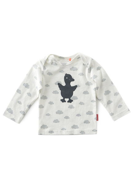 Tapete Newborn Shirt Longsleeve Clouds - Maat 68