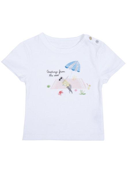 Emile et Ida T-shirt Craie - Maat 62