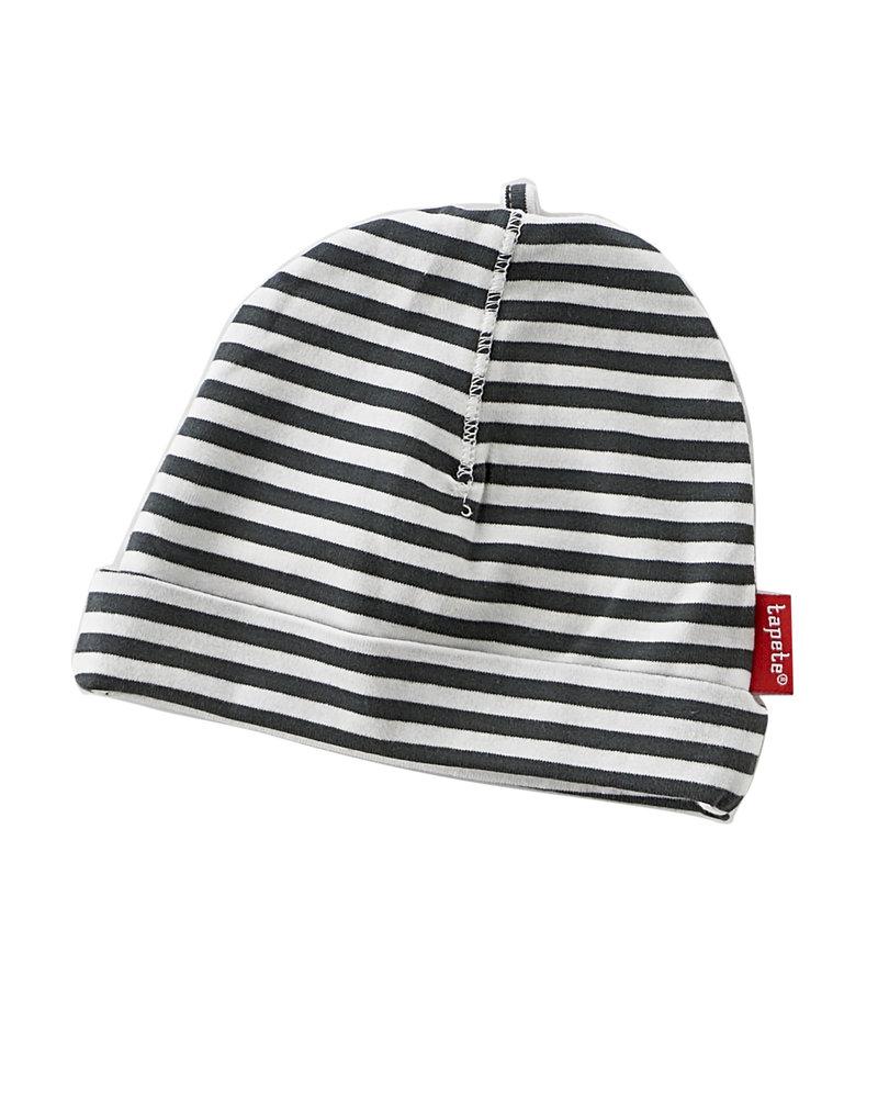 Tapete newborn hat / black stripes
