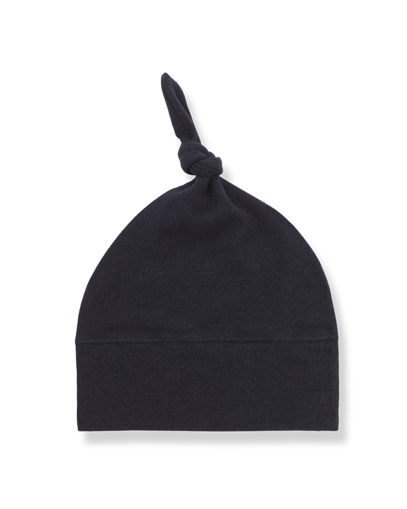 1 + In the Family Fina beanie w/knot blue