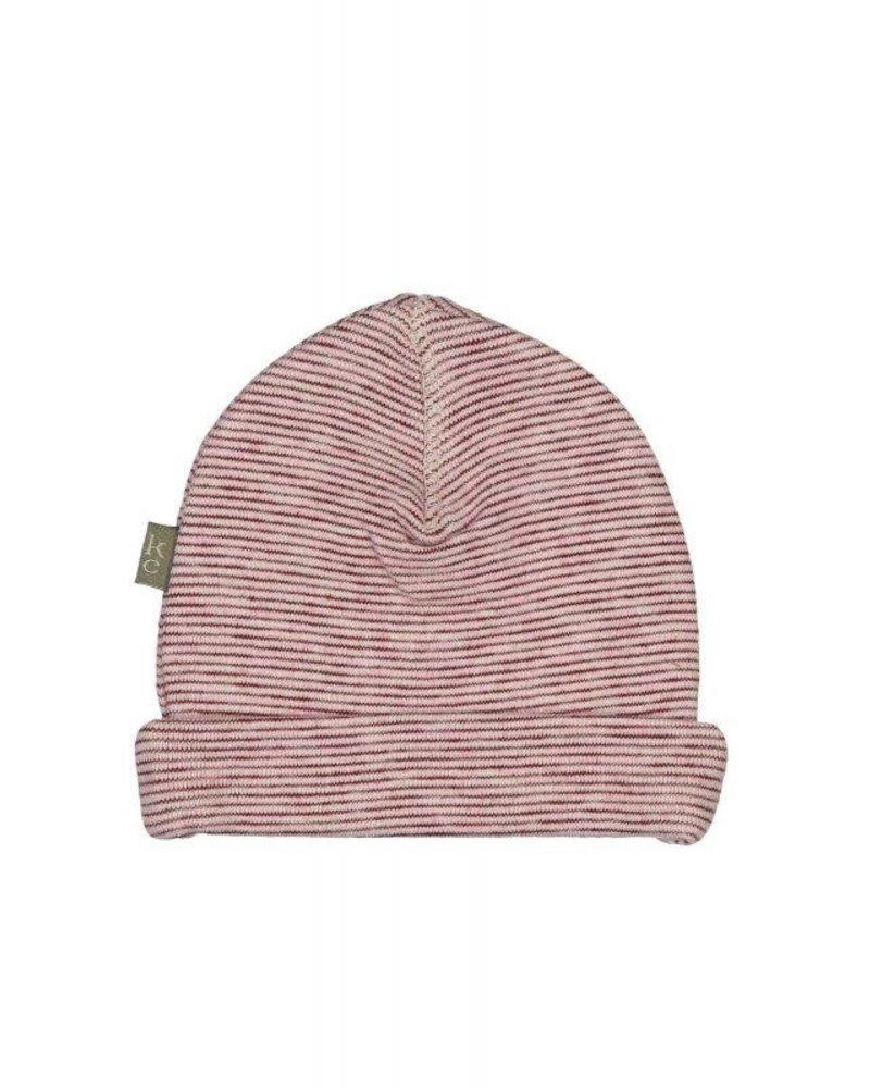 Kidscase Honey organic NB hat - light pink