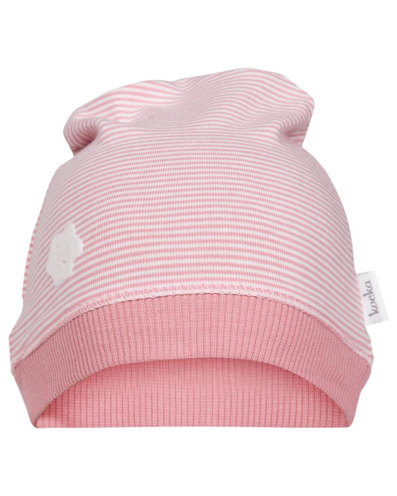 Koeka Palm Beach Hat blush pink
