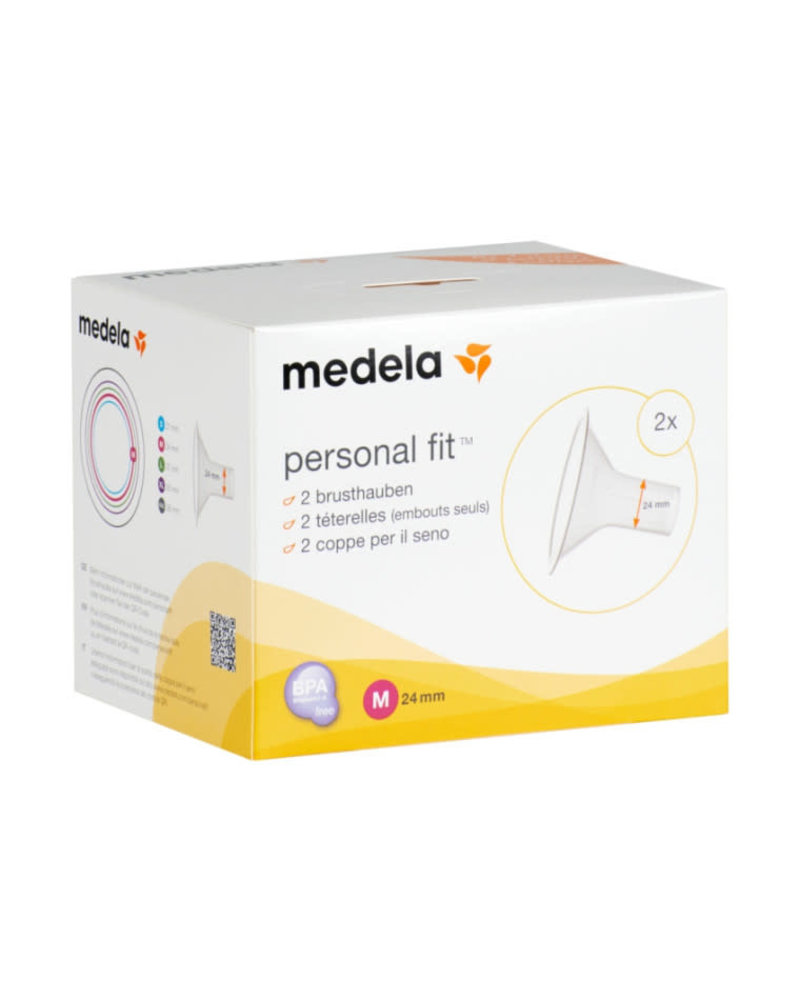 Medela Personal Fit borstschilden M (24 mm), per 2 stuks