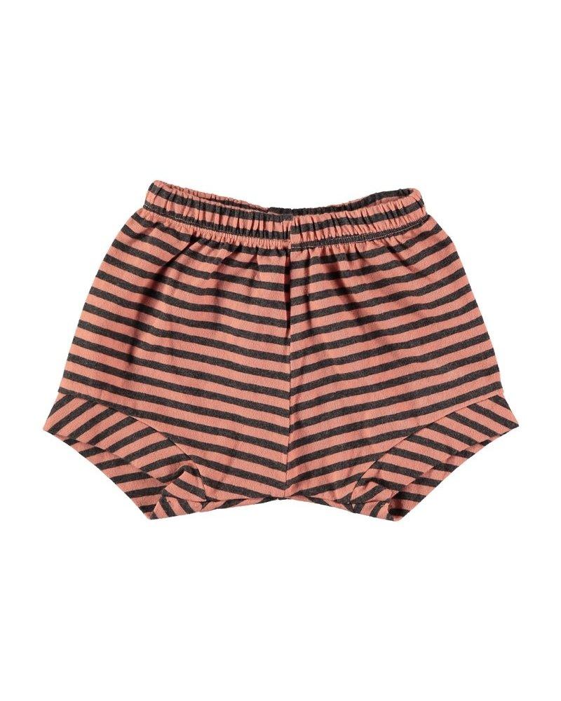 Beans Cos - Striped short - Peach 0/1M