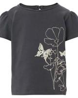 Noppies T-shirt K/M flowers 50