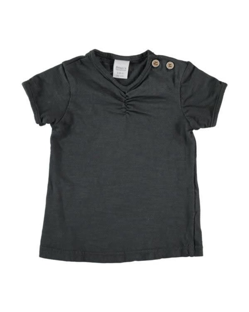 Beans Valencia - Girl T-shirt - Anthracite 0/1M