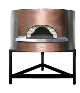 Ambrogi Holz-Pizzaofen Backplatte ø 1100 mm, Kapazität 4/5 Pizzen