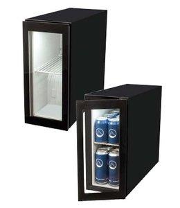 Dosenkühlschrank 12l / Mini Kühlschrank mit Glastür