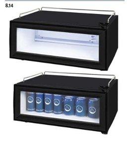 Dosenkühlschrank 25l / Mini Kühlschrank mit Glastür