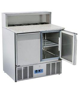 Mastro Pizzadette / 900x700 / Kühltisch mit 2 Türen