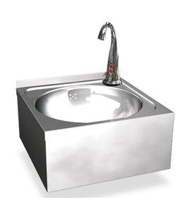 Mastro Handwaschbecken Ø 390 mm für Wandmontage mit elektronischer Armatur