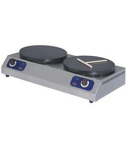 Mastro Elektro-Crêpegerät, 2x ø 350 mm