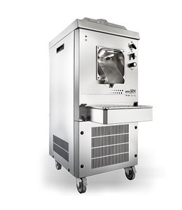 Virtus  Speiseeismaschine mit Luftkühlung, Kapazität 6 Liter, Produktion 17 Liter/h