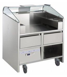 Electrolux Libero Point / Frontcooking für 2 Einheiten mit 2 gekühlten Schubladen