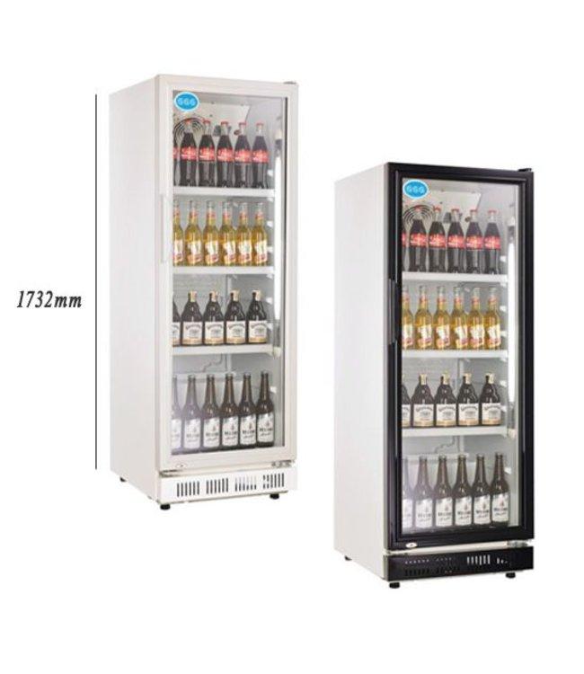 GGG Getränkekühlschrank 360 Liter / Glastür, 0°/+10°C