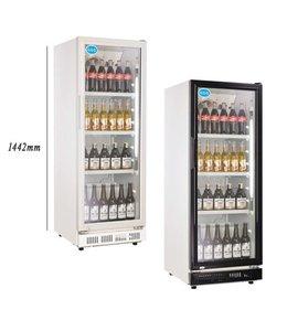 GGG Flaschenkühlschrank 230 Liter / Glastür