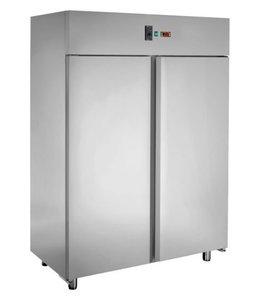 GGG Backwarentiefkühlschrank 1400 Liter, Edelstahl / 1420x800x2100mm