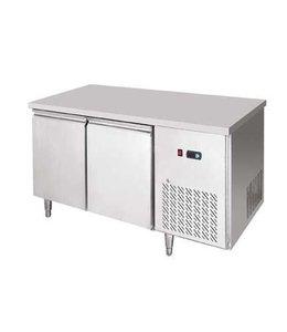 GGG Tiefkühltisch 1390x700 / 2 Türen, -18°C