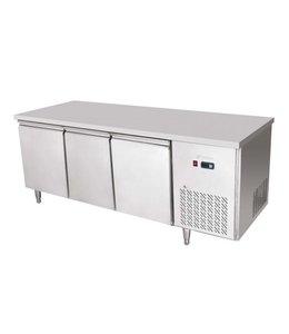 GGG Tiefkühltisch 1835x700 / 3 Türen, -18°C