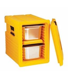 Thermobox 55 Liter / 12 Einschübe / Deckel abnehmbar