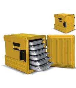 Thermobox 55 Liter / 12 Einschübe / Tür mit Scharnieren