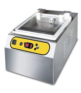 Mastro Vakuumierer in Edelstahl, Tischmodell, Schweißbalken 400 mm