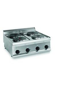 KBS Gastrotechnik Elektrokochfeld, 4 Platten / B700xT700