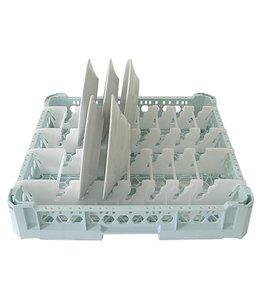 Spülmaschinenkorb - Tellerkorb 500x500mm für 15 Teller