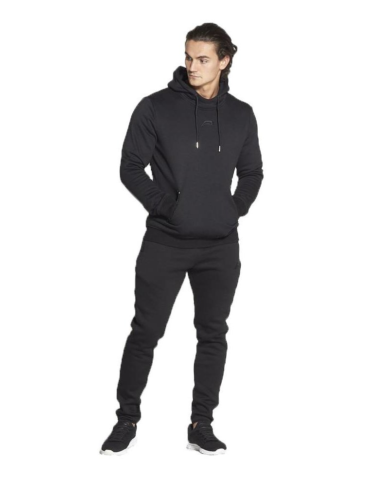 Pursue Fitness Icon tapered hoodie