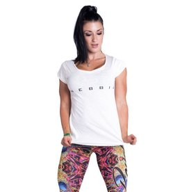 NEBBIA Fitness t-shirt - wit