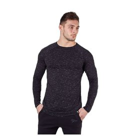 Physiq apparel Lifestyle longsleeve - Black haze
