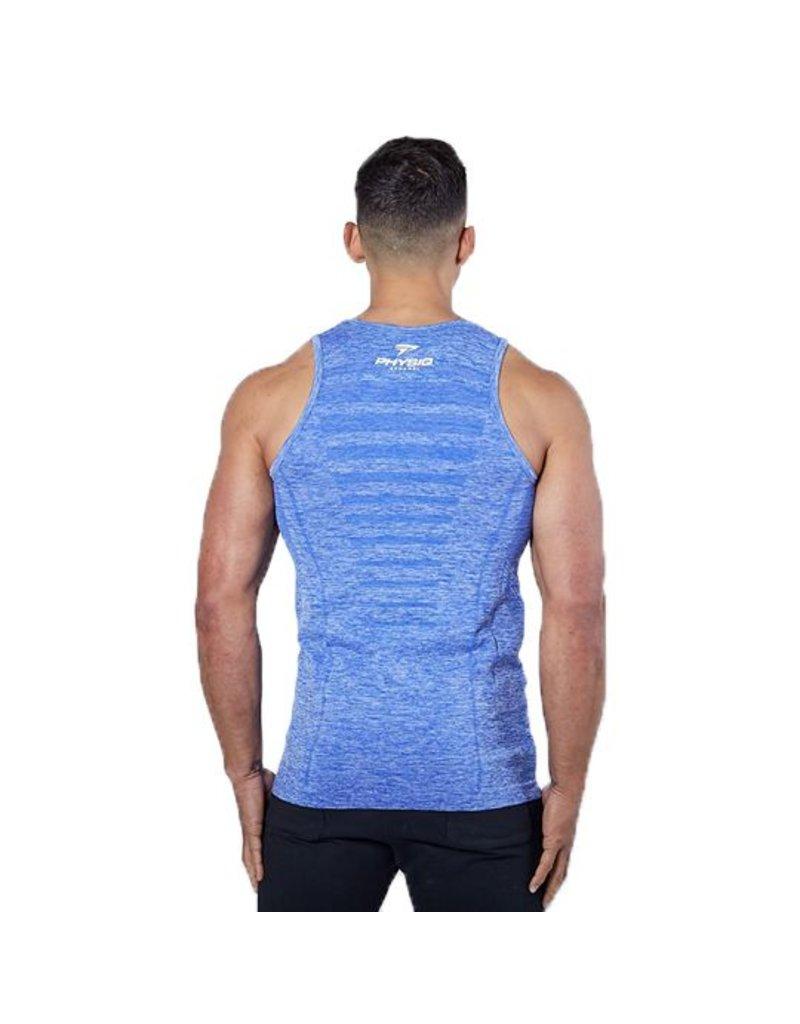 Physiq apparel Hyperknit tanktop - ultra blue