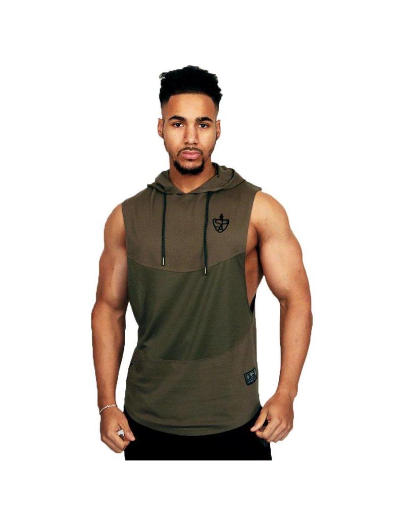 SP aesthetics JUST LIFT sleevless hoodie