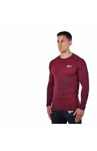 Physiq apparel Hyperknit 2.0 longsleeve - port red
