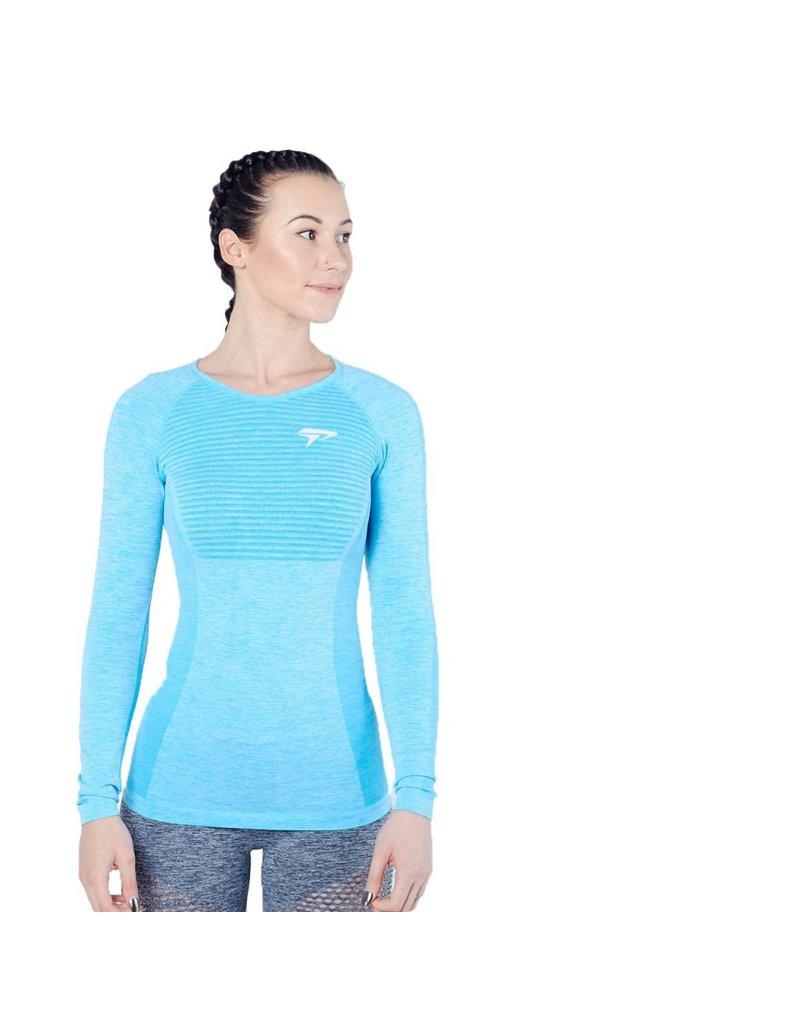 Physiq apparel Women's Hyperknit longsleeve - aqua