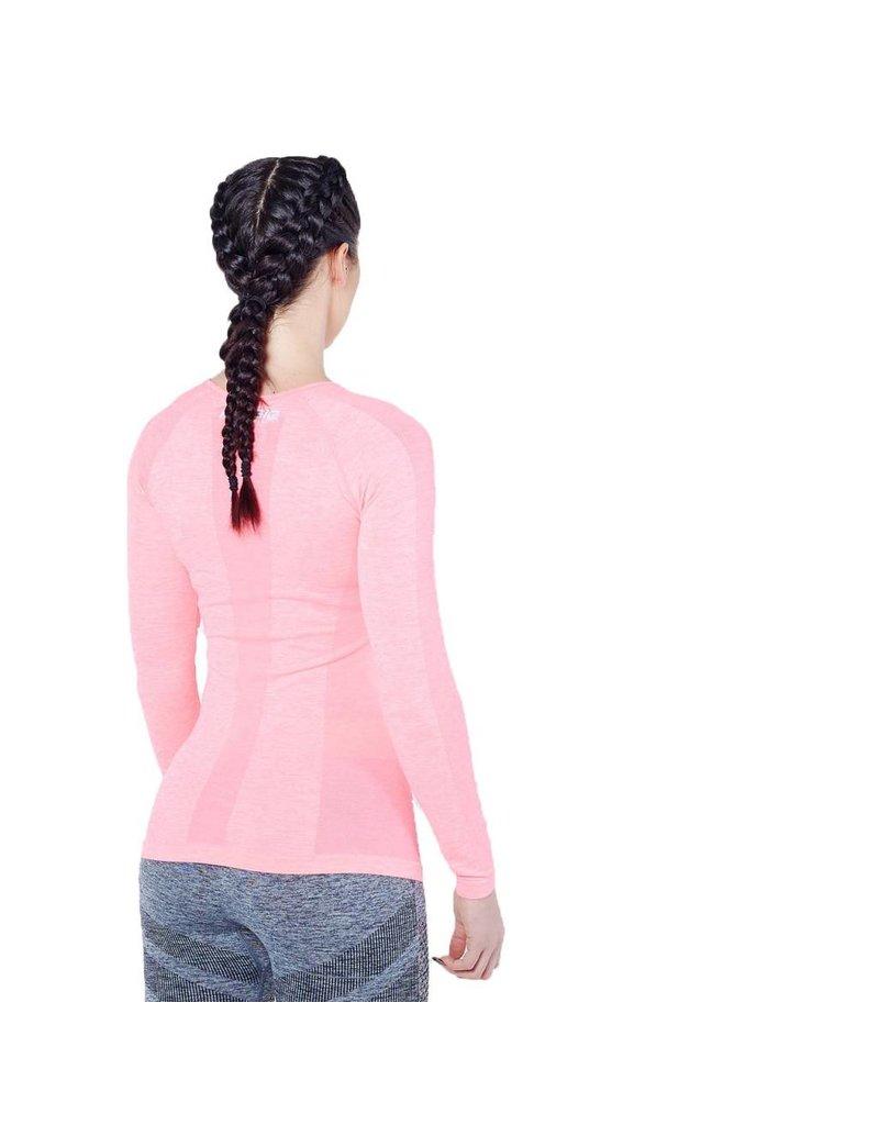 Physiq apparel Women's Hyperknit longsleeve - fuchsia