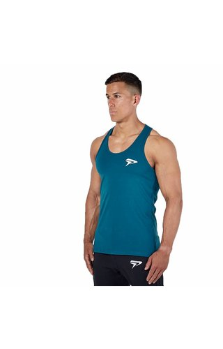 Physiq apparel Essentail stringer - teal