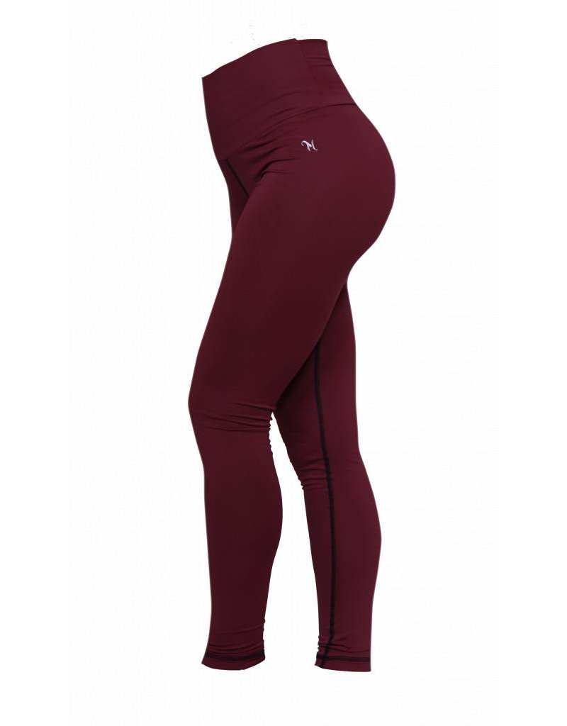 MFITsports High waist shaper sportlegging - burgundy