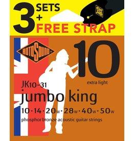 Rotosound Phosphor Bronze Jumbo King 3 Sets
